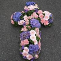 Croix Funéraire Pastel